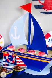how to host an adorable nautical baby shower an alli event