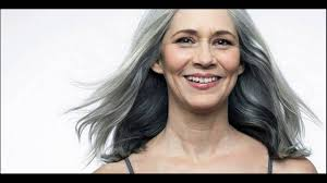 transitioning to gray hair with lowlights grey hair highlights and lowlights solution youtube