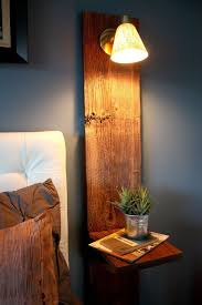 Floating Headboard With Nightstands by The Snug Is Now A Part Of Tiny Spaces Nightstands And Spaces