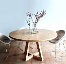 table cuisine chene table cuisine chene trendy table de salle a manger ronde avec