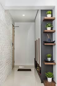 Wood Corner Shelf Design by