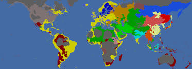 World Religion Map The Ultimate Spanish Inquisition A Castilian One Faith Attempt