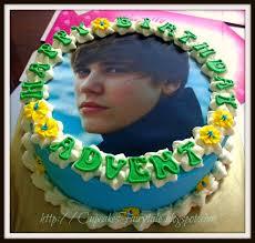 cupcakes fairytale advent u0027s justin bieber birthday cake