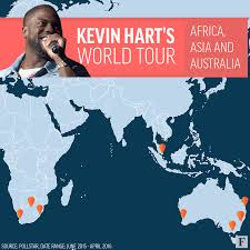 Map Gif Touring Like A Rockstar Inside Kevin Hart U0027s 87 5 Million Year