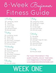workout plans for beginners at home 8 week beginner fitness jumpstart week one no gym no problem