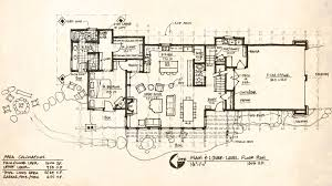 Contemporary Floor Plan by Modern Mountain House Floor Plans House Plans