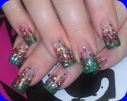 best 25 christmas acrylic nails ideas on pinterest pretty nails