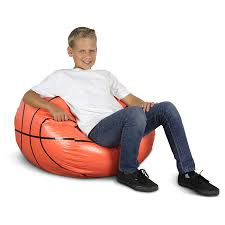 basketball bean bag chair for kids dcg stores