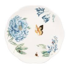 butterfly platter lenox butterfly meadow blue 4 dessert plate set free