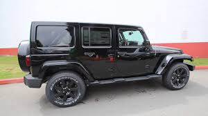 2014 Jeep Wrangler Unlimited Sahara Altitude Edition Black