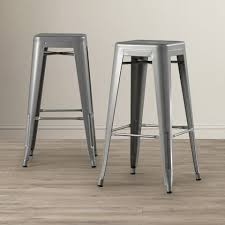 silver metal bar table silver metal bar stools with backs inch chairs kitchen wood 30