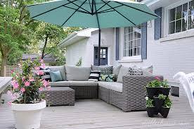 Ikea Patio Umbrella Nalle S House Summer Patio Seating Area