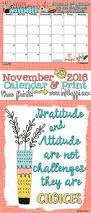thanksgiving blessing mix november 2016 calendar and print inkhappi
