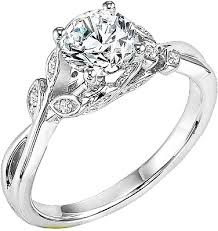 carved engagement rings carved corinne diamond engagement ring 31 v317