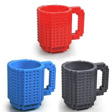 creative mugs practical creative drinkware building blocks mugs diy coffee cup
