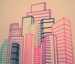 washi tape designs washi tape washi tape skyline wall design diy and crafts