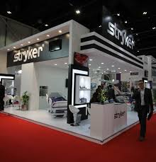exhibition stand design stryker nucleus exhibitions