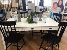 magnolia farms dining table magnolia home furniture real life opinions the harper house