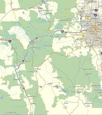 Bailey Colorado Map by Maps Don Moe U0027s Travel Website