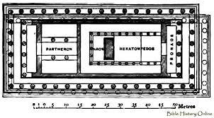 parthenon greece floor plan thefloors co