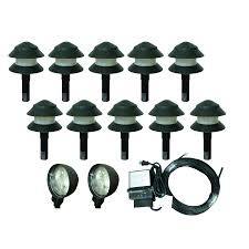 portfolio landscape lighting low voltage landscape lights kit landscape lighting