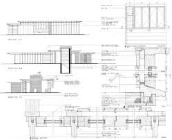 dining room and windows detail plan jacobs 1 house 441 toepfer