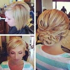 Dressy Hairstyles Best 25 Bob Updo Hairstyles Ideas Only On Pinterest Short Bob