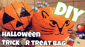 Youtube Halloween Crafts - diy halloween trick or treat bag youtube autumn crafts special