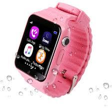 aliexpress location kids smart watch v7k gps smartwatch touch screen with camera sos