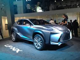 lexus crossover 2013 2013 frankfurt toyota and lexus debuts far from conservative