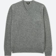 sleeve sweater lambswool v neck sweater uniqlo us