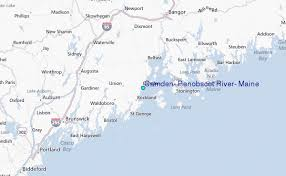 map of camden maine camden penobscot river maine tide station location guide