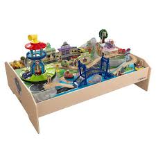thomas the train wooden track table brio wooden train set table combination loop wooden train set sc 1