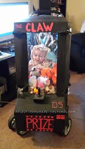 61 Awesome Last Minute Halloween Costume Ideas Today Com by Homemade Baby Stuck In An Arcade Game Stroller Costume Stroller