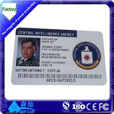 How To Make Employee Id Cards - voter id card with anti fake film custom id card hologram overlay