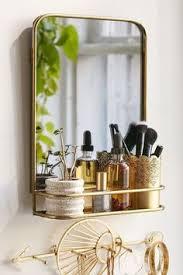 Bathroom Mirror With Shelf by Rectangular Pharmacy Mirror With Shelf Shelves Pharmacy And Metals