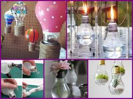 25 diy ideas for recycling light bulbs easy room decorations