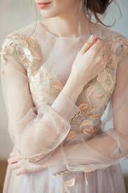 pink embroidered wedding dress golden embroidered blush wedding dress doren boned 3d