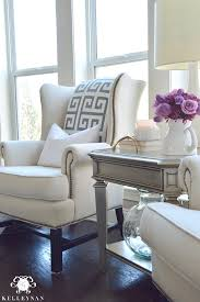 cool tone spring ready living room tour kelley nan
