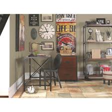 home decorators collection black and pine desk 0823200910 the