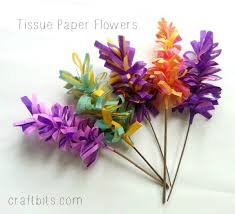 tissue paper flowers how to make tissue paper hyacinth flowers craftbits