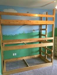 Build Your Own Wooden Bunk Beds build your own bunk bed super easy and super strong diy wood