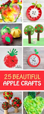 25 easy and beautiful apple crafts for kids non toy gifts