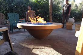 California Fire Pit by Fire Bowls 101 Concrete Fire Bowls Water Bowls Giant Jars