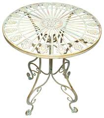 Pier One Bistro Table Keeran Bistro Table Distressed Rustic French Dining Bistro Table