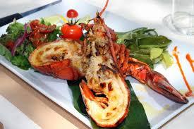 cuisiner une langouste langouste grillé cuisine creole en guadeloupe indies food