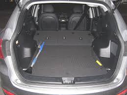 hyundai tucson trunk space 2012 tucson folded seats best cars