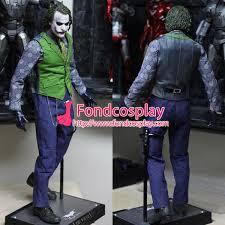 Batman Arkham Halloween Costumes Free Shipping Halloween Batman Arkham Asylum Jacket Dress Game