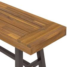 Acacia Wood Outdoor Furniture Durability by 3 Piece Acacia Wood Picnic Dining Table U2013 Best Choice Products