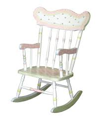 personalized rocking chair for baby hand painted personalized